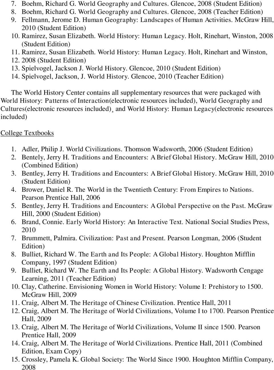 World History Resource Library - PDF