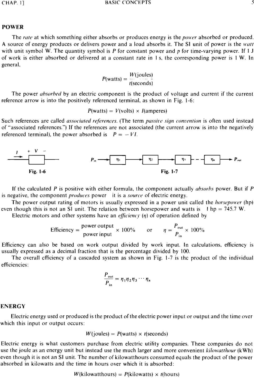 Basic Circuit Analysis Pdf Electronic Circuits Schaum Series If 1 J Of Work Is Either Absorbed Or Delivered At A Constant Rate In