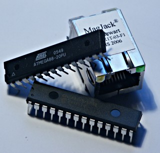 2 Introduction to the ENC28J60 Ethernet controller The ENC28J60 from