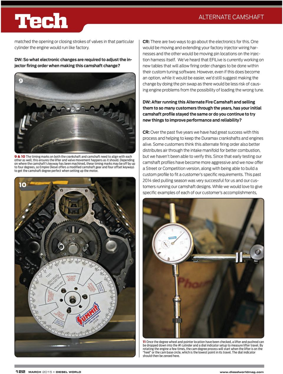 Page on Duramax Engine Firing Order