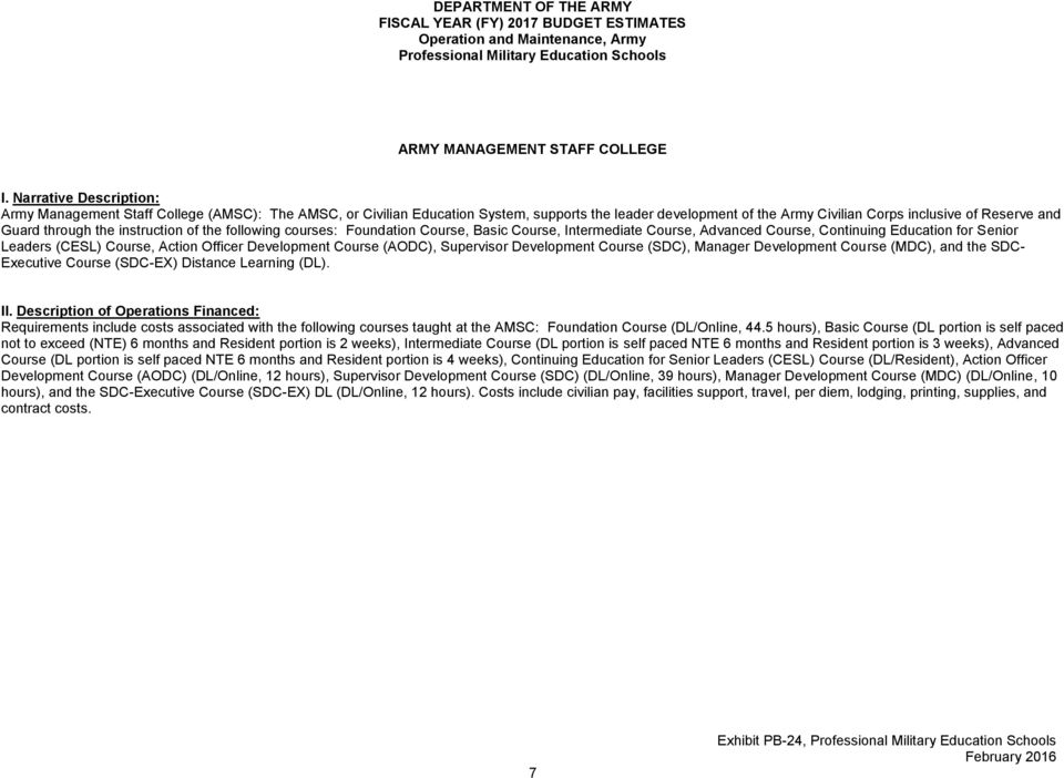 DEPARTMENT OF THE ARMY - PDF
