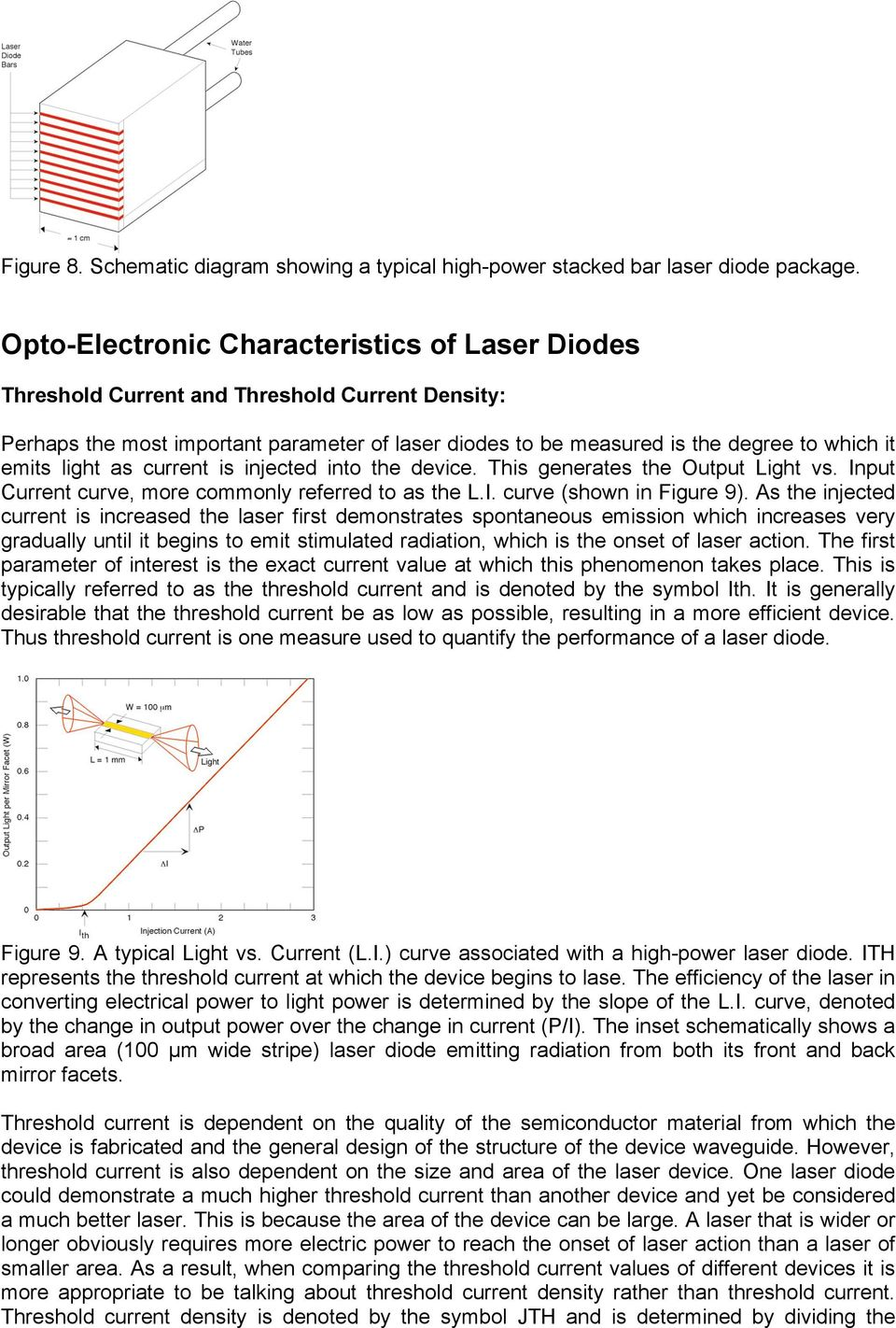 Photonics Newport Corporation Pdf Heat Pump For Laser Diodes Stabilization Circuit Wiring Diagrams Light As Current Is Injected Into The Device This Generates Output Vs