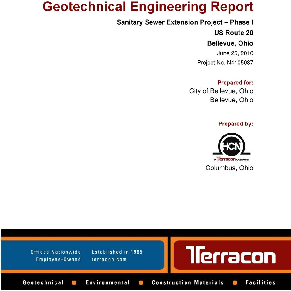 Geotechnical Engineering Report - PDF