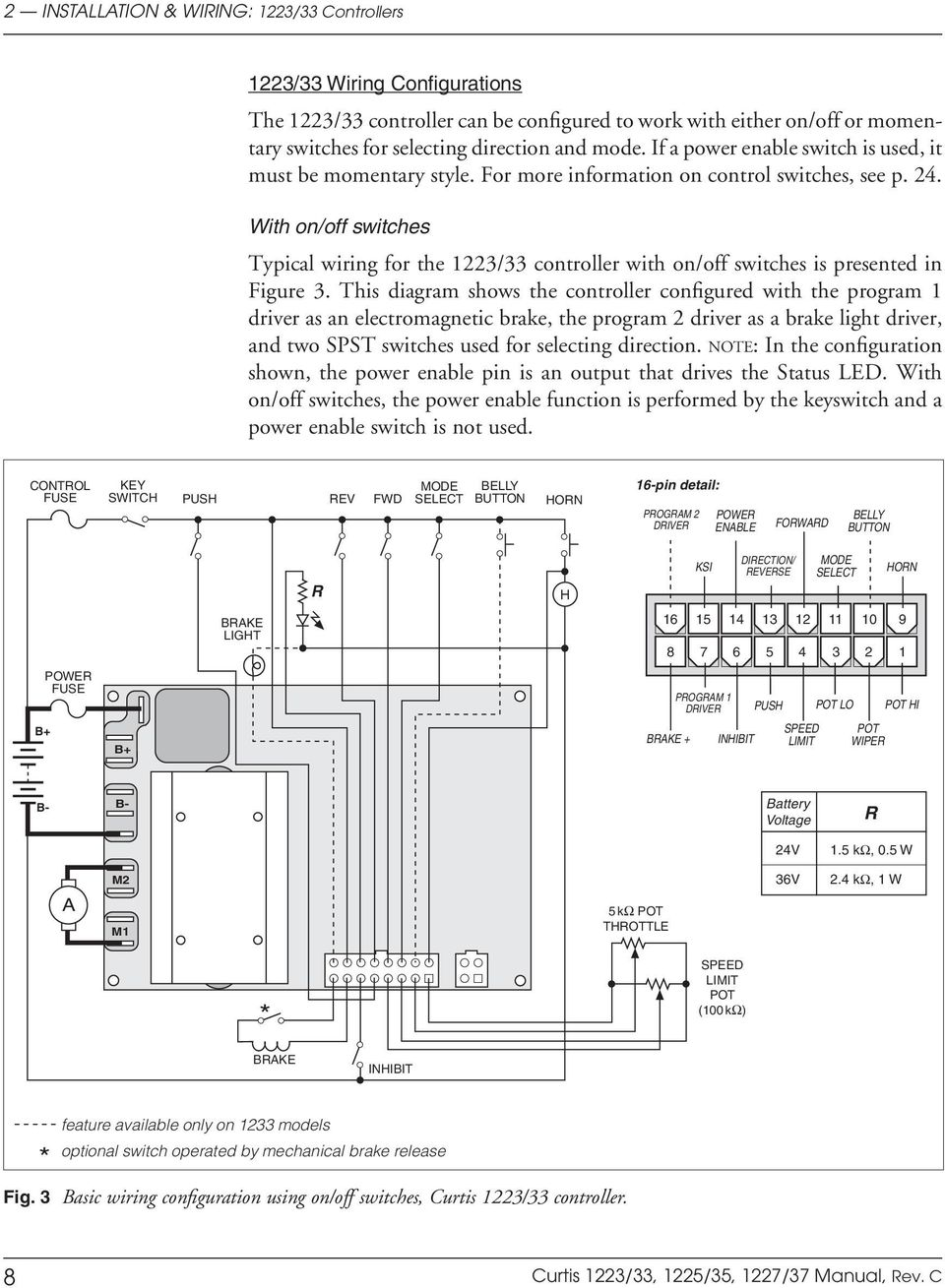 curtis instruments, inc multimode motor controllers pdf hubbell wiring diagrams curtis instruments wiring diagrams #8