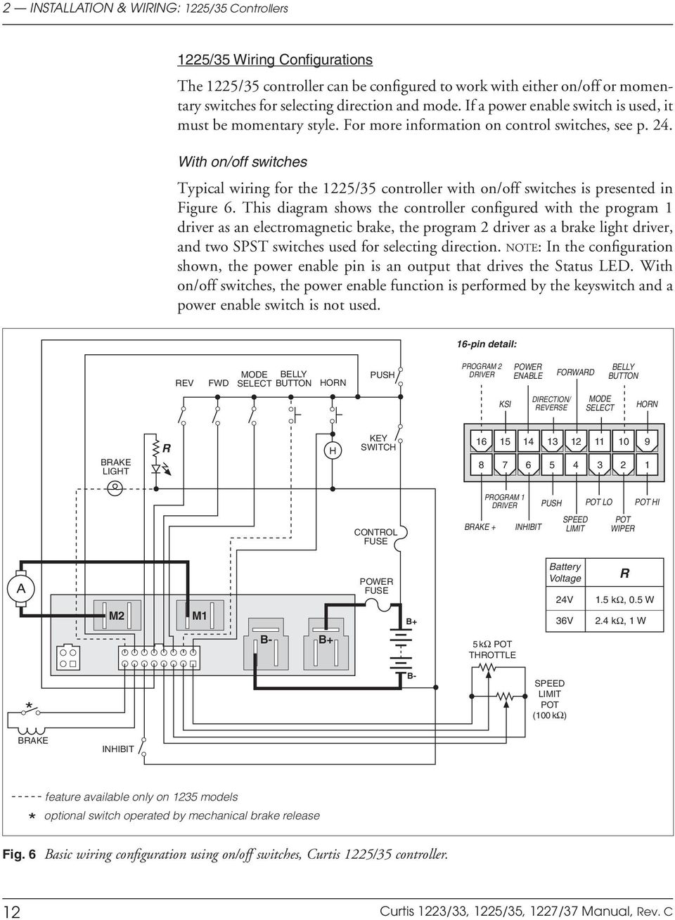 Curtis Controller Wiring Diagram from docplayer.net
