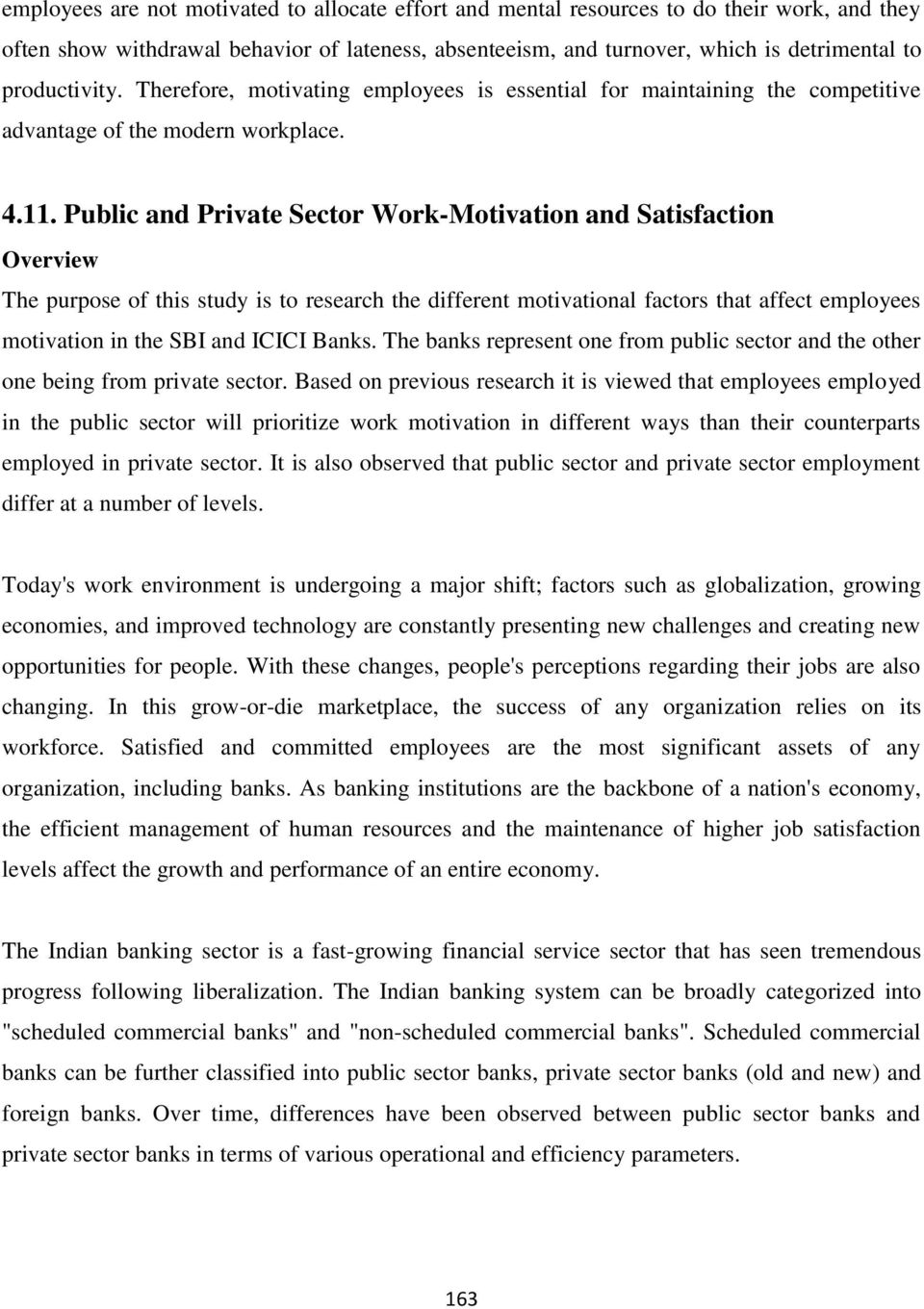 difference between public sector and private sector banks