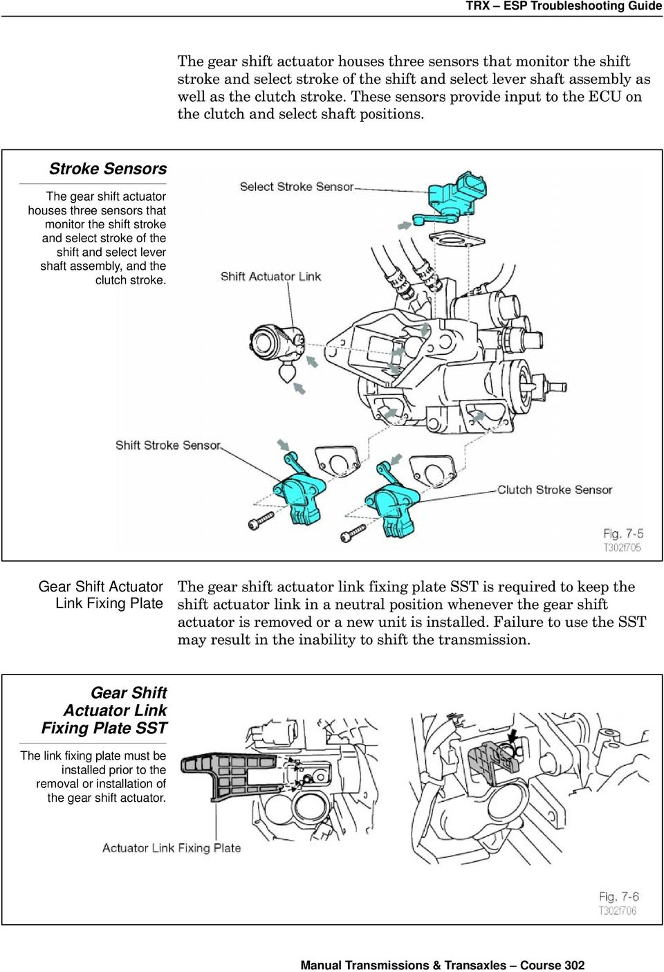 Sequential Manual Transmission Pdf Clutch Diagram Linkage Left Drive Stroke Sensors The Gear Shift Actuator Houses Three That Monitor And Select