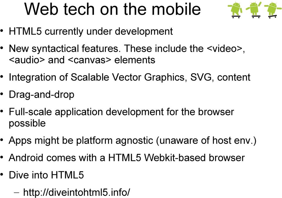 Hybrid apps with HTML5 Android NDK - PDF