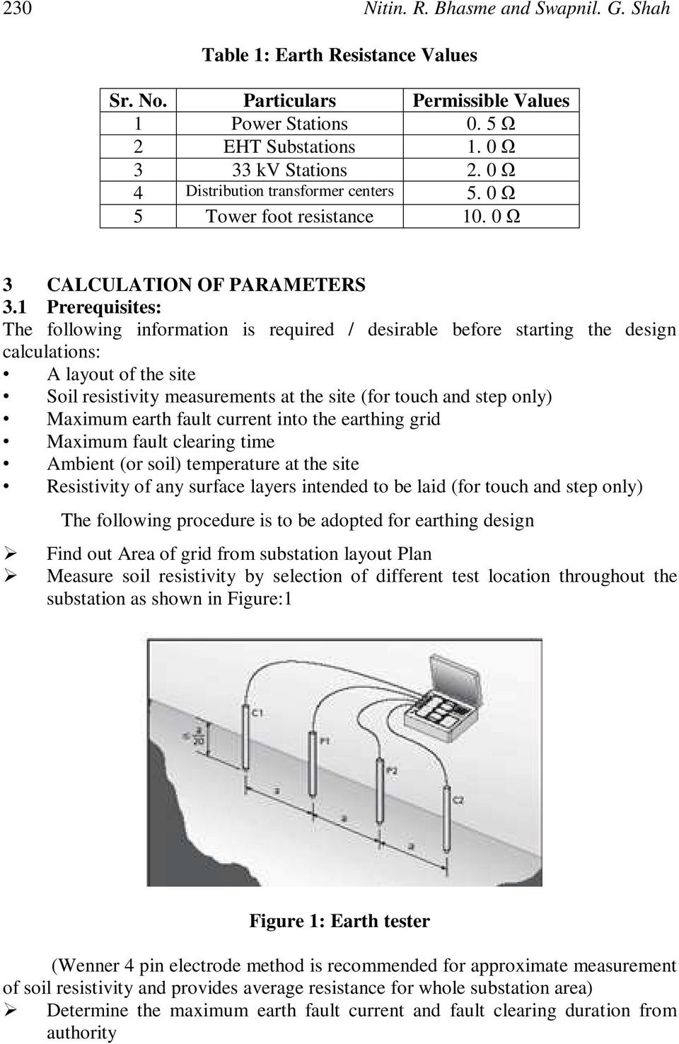 Switchyard Design Calculation