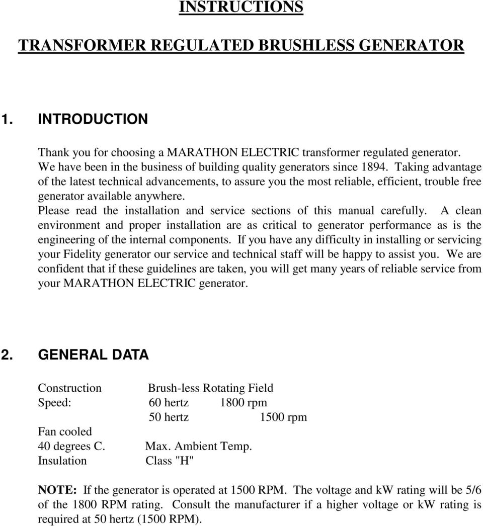 Transformer Regulated Brushless Generator Pdf Wiring Diagram Taking Advantage Of The Latest Technical Advancements To Assure You Most Reliable Efficient