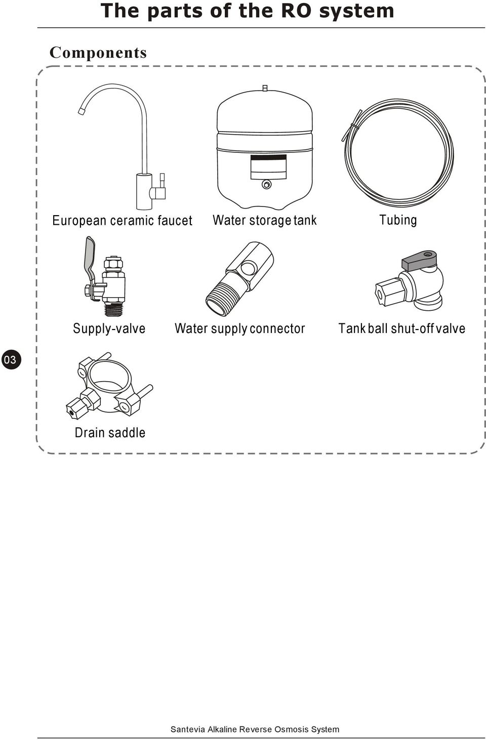 Users manual alkaline reverse osmosis system pdf tank tubing supply valve water supply publicscrutiny Choice Image
