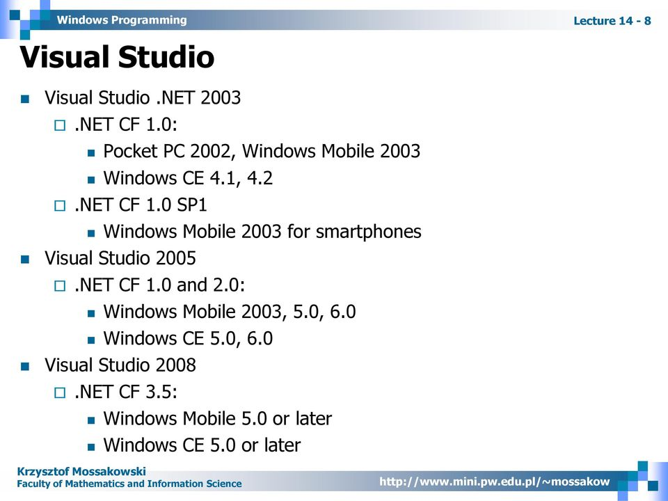 Top Five Actualizar Windows Ce 5 0 A 6 0 - Circus