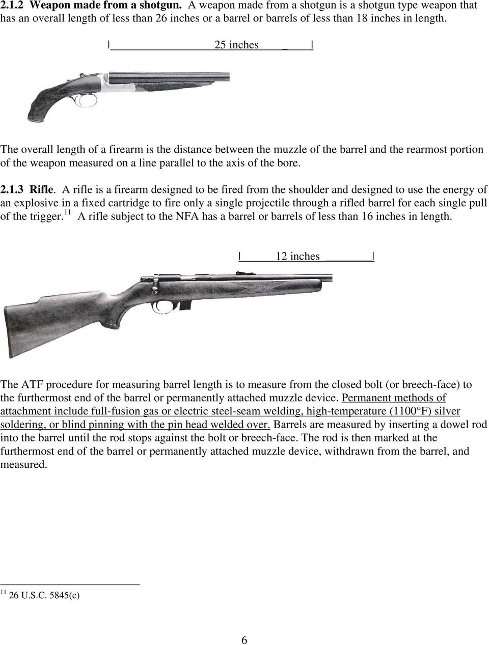 CHAPTER 2  WHAT ARE FIREARMS UNDER THE NFA? - PDF