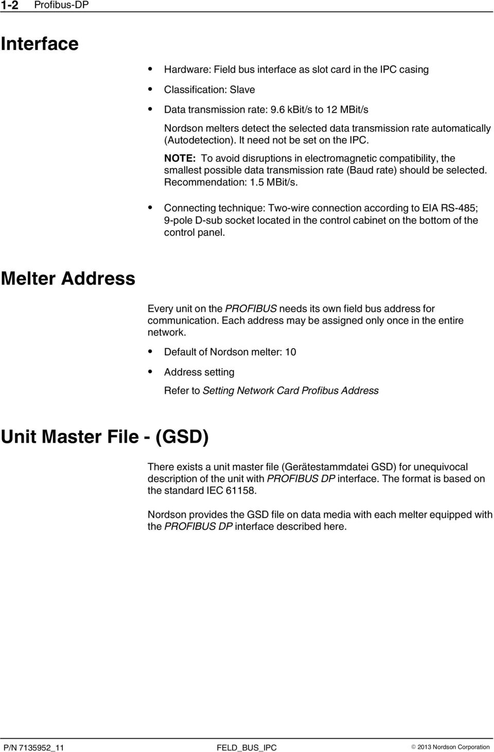 Field Bus on Nordson Melters with IPC - PDF