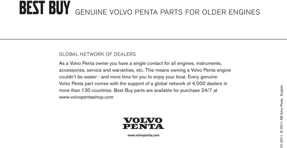 Best buy genuine volvo penta parts for older engines 20111 pdf this means owning a volvo penta engine couldn t be easier and more time for fandeluxe Gallery