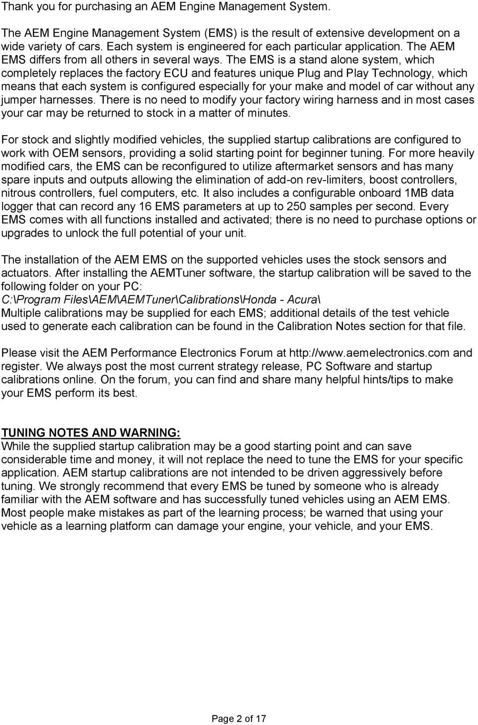 Installation Instructions For Ems P N Pdf Obd2 Civic Ecu Wiring Diagram Further Push Button Start The Is A Stand Alone System Which Completely Replaces Factory And Features