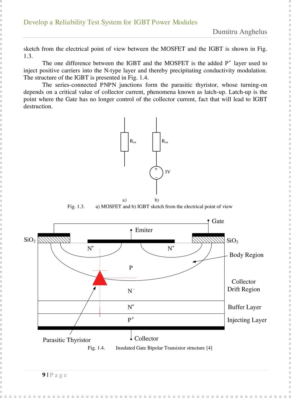 Dumitru Anghelus Master Thesis Pdf Igbt Mosfet Tester As Well Inverter Circuit Diagram On The Structure Of Is Presented In Fig 14