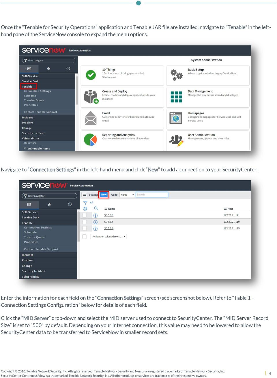 Tenable for ServiceNow - PDF