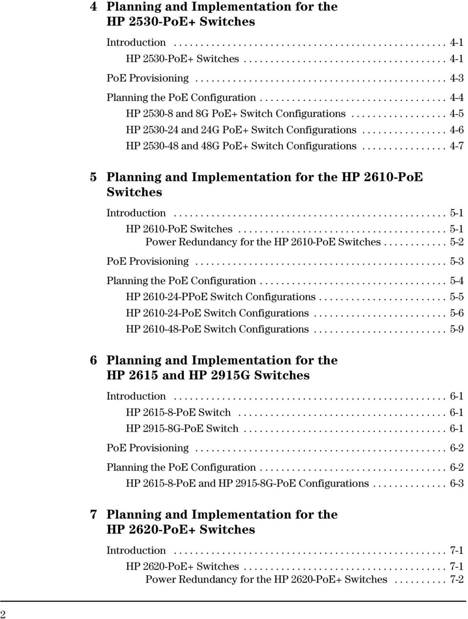Hp Power Over Ethernet Poe Pdf Poweroverethernet On Industrialbased Networking Fig 2 7 Provisioning