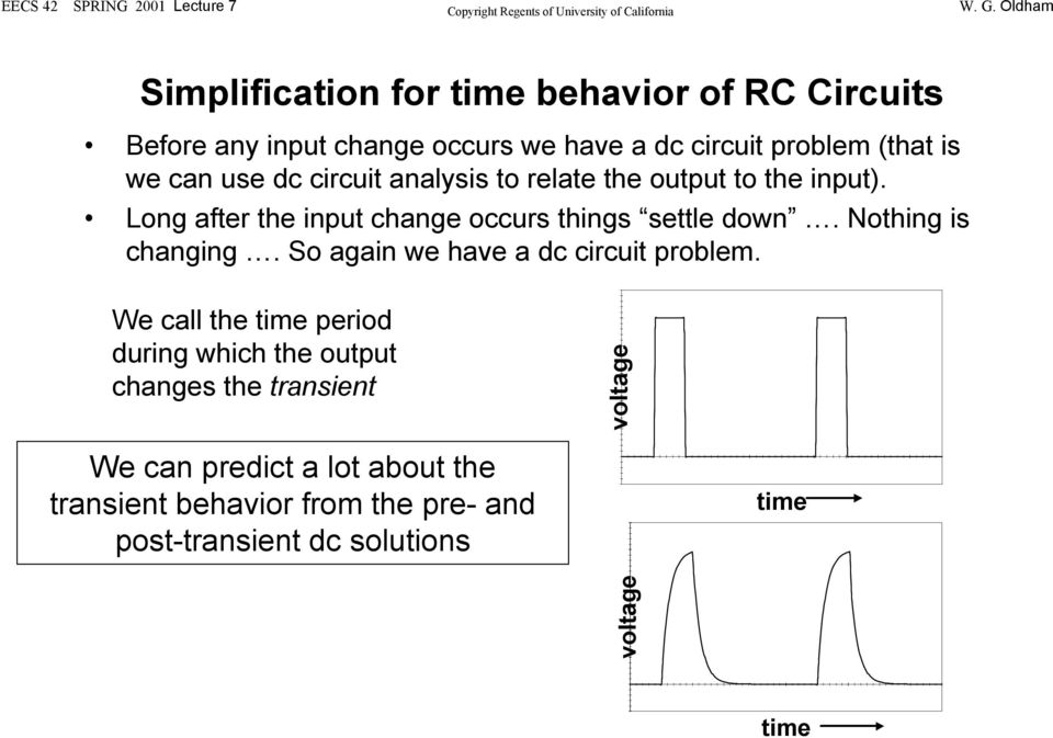 Review of charging and discharging in RC Circuits (an