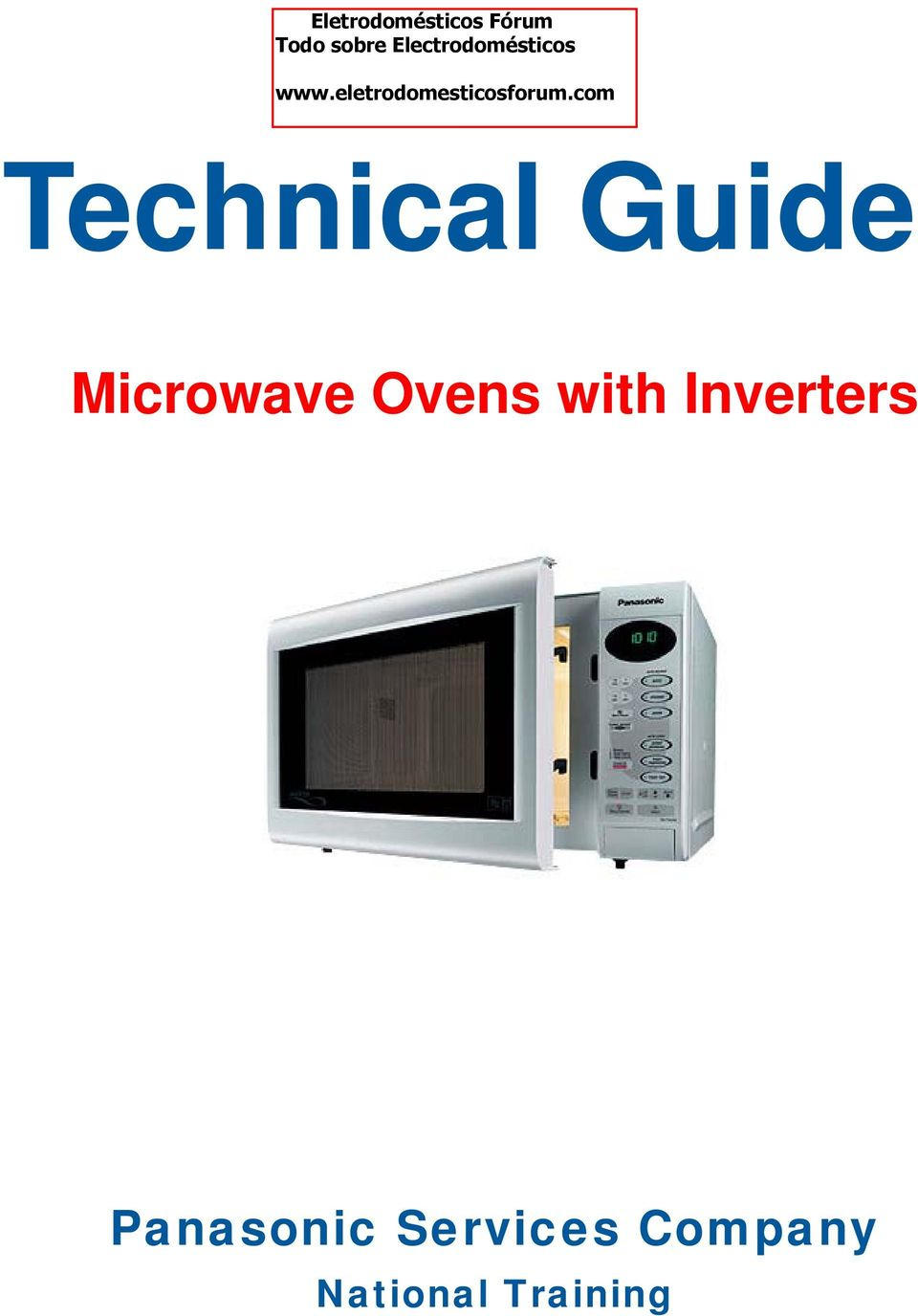 technical guide microwave ovens with inverters panasonic servicesParts Diagram Parts List For Model Nnc980w Panasonicparts Microwave #13