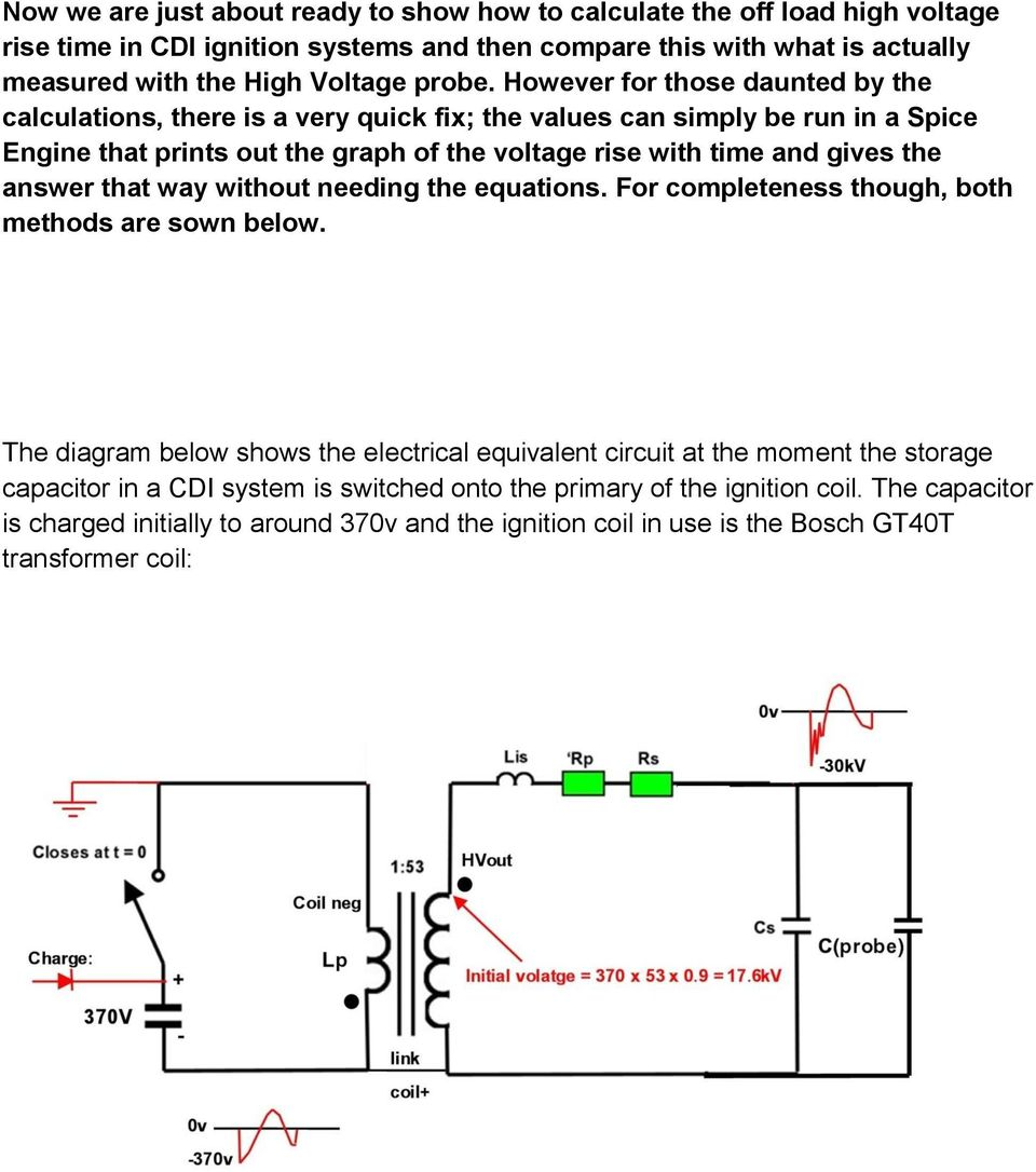 Capacitive Discharge Ignition And Magnetic Pdf Auto Rod Controls 3701 Wiring Diagram However For Those Daunted By The Calculations There Is A Very Quick Fix