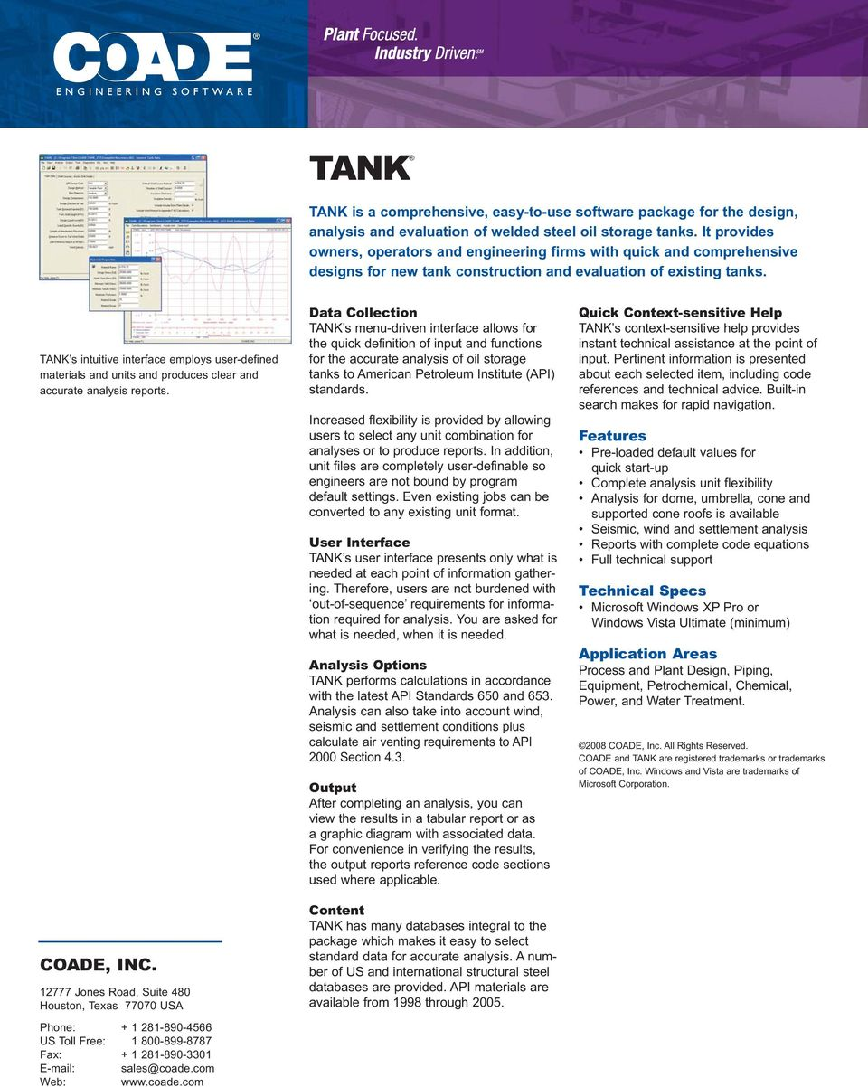 Cadworx Plant And Professional Pdf Piping Layout Course In Delhi Tank S Intuitive Interface Employs User Defined Materials Units Produces Clear Accurate