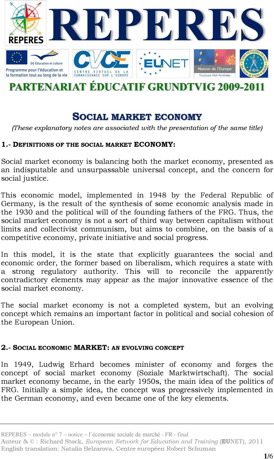 liberal market economy definition
