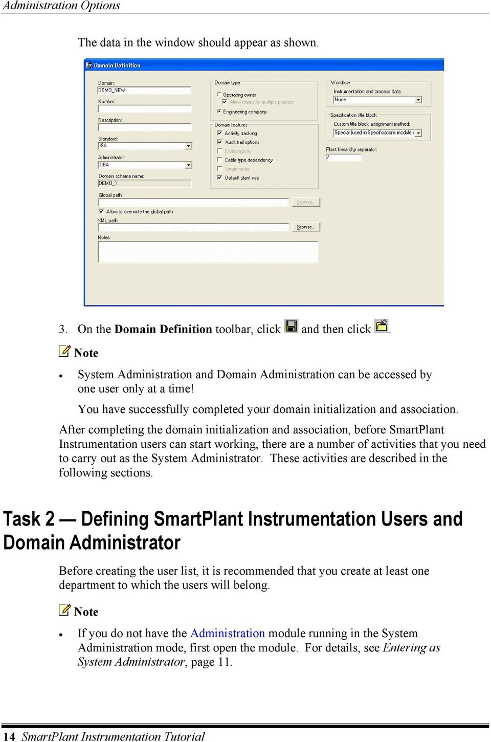 Smartplant Instrumentation Tutorial Pdf Wiring Basics After Completing The Domain Initialization And Association Before Users Can Start Working