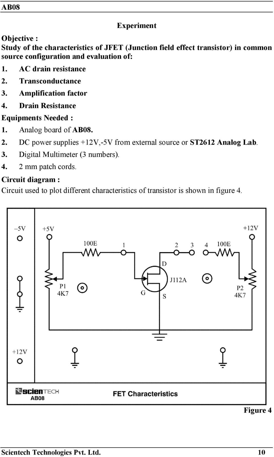 Operating Manual Ver Pdf Fet Voltmeter Circuit Schematic Diagram Analog Board Of Ab08 2 Dc Power Supplies 12v 5v From