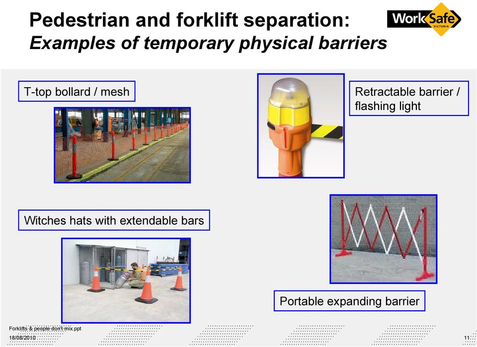 Forklifts and people don t mix  WorkSafe s expectations for