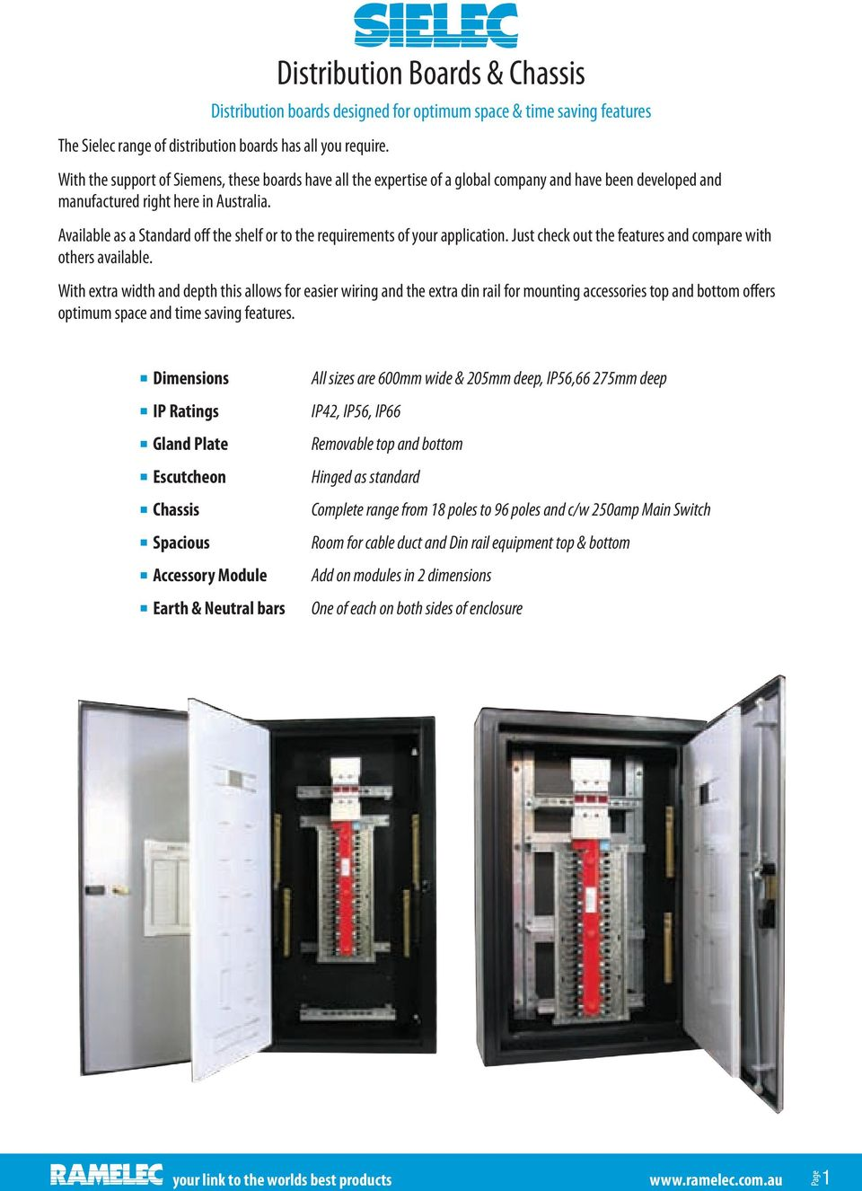 Distribution Boards Chassis Transfer Switches Pdf Pcb Circuit Board Mounting Bracket For Din Rail Fst Available As A Standard Off The Shelf Or To Requirements Of Your Application Just 4