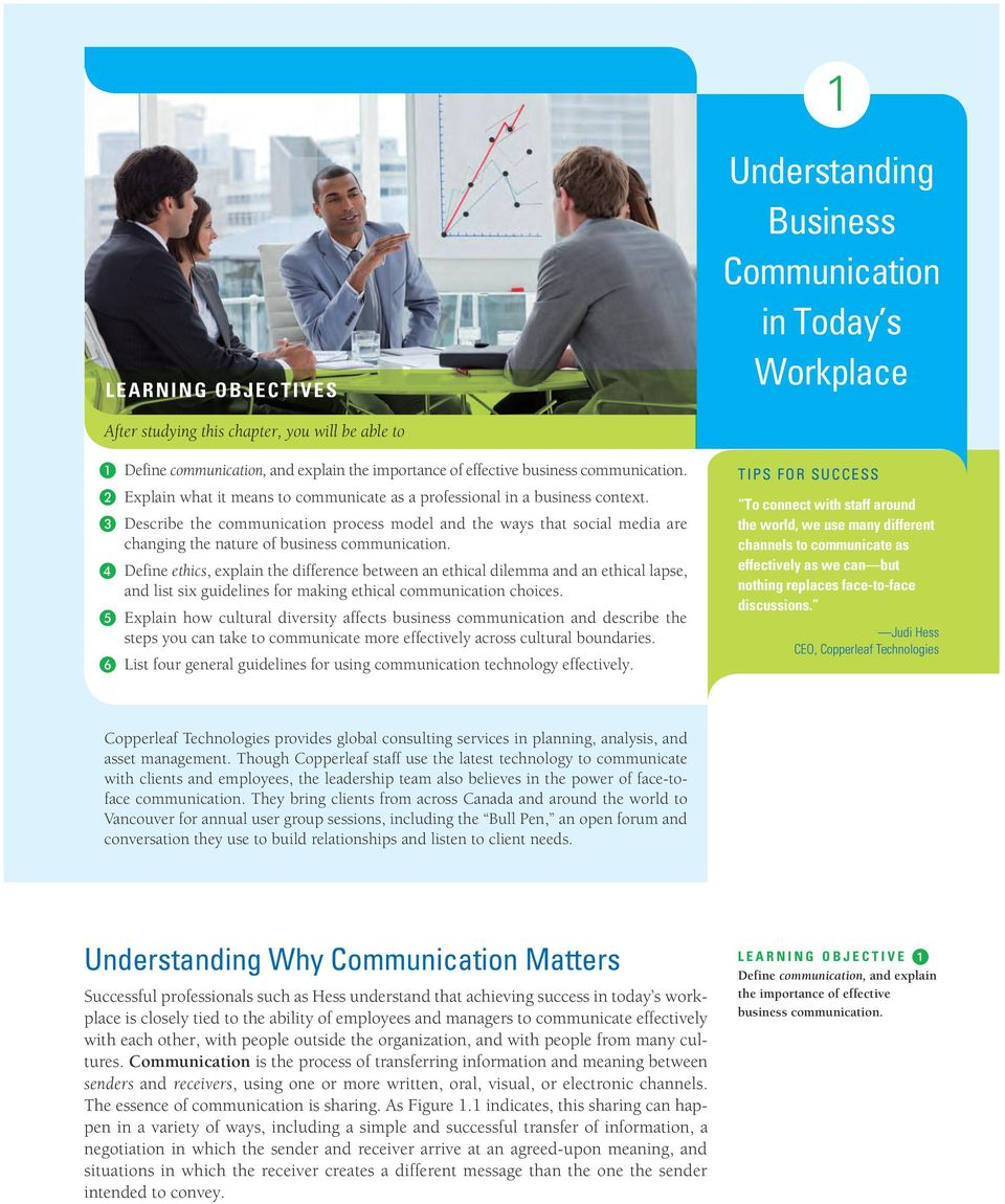 Understanding Business Communication in Today s Workplace - PDF
