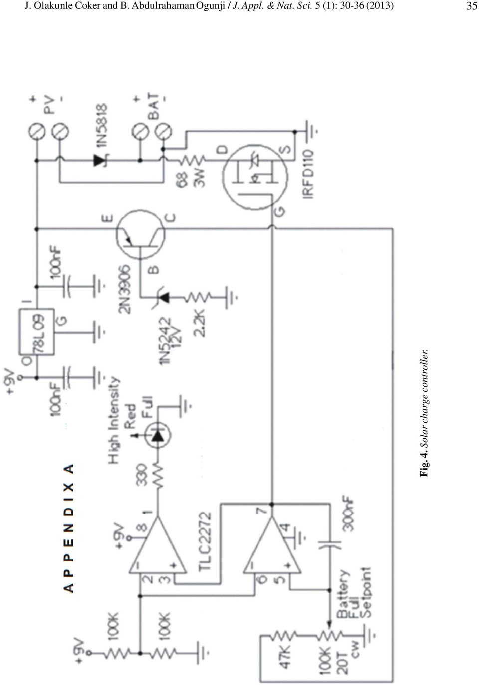 Design And Construction Of An Inverter Using Solar Cell As A Source With Panel Schematic Diagram Also Npn Pnp Transistor Charger Pdf