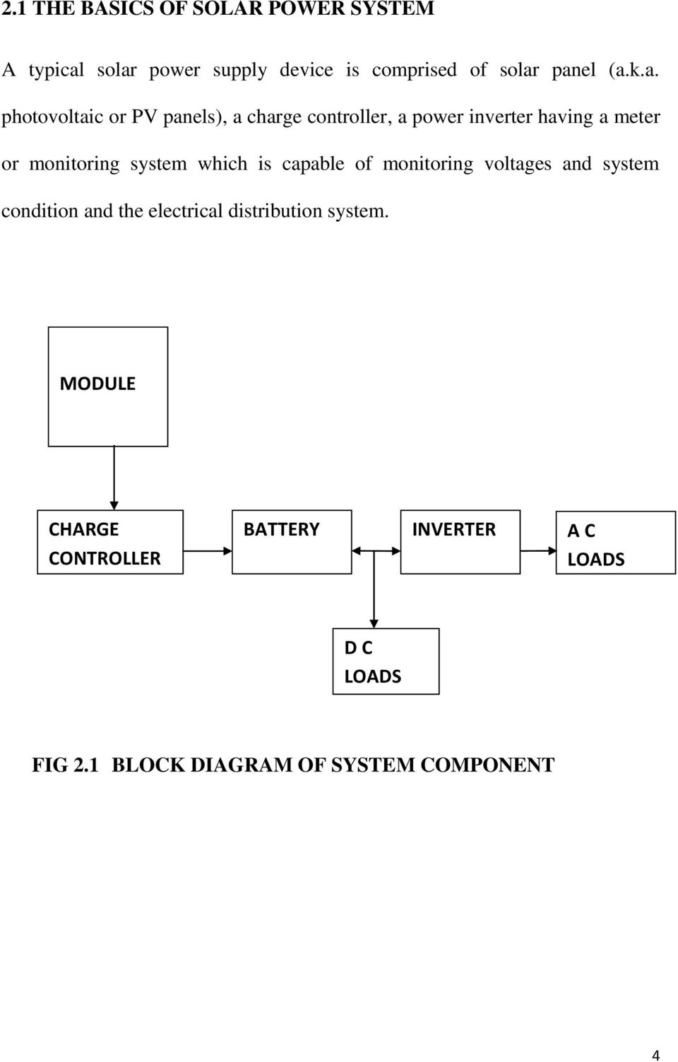 Design And Installation Of 200 Watt Solar Power System Pdf Electrical Block Diagram Which Is Capable Monitoring Voltages Condition The Distribution