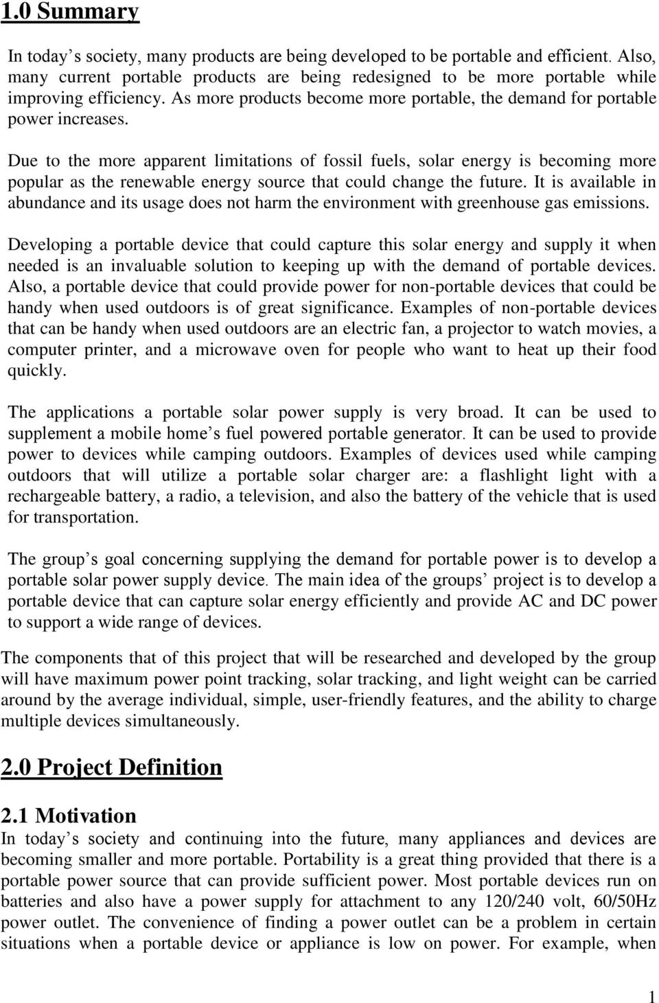 University Of Central Florida Senior Design Project Portable Solar 555 Timer Projects Buck Converter Using Ne555 31 Due To The More Apparent Limitations Fossil Fuels Energy Is Becoming Popular