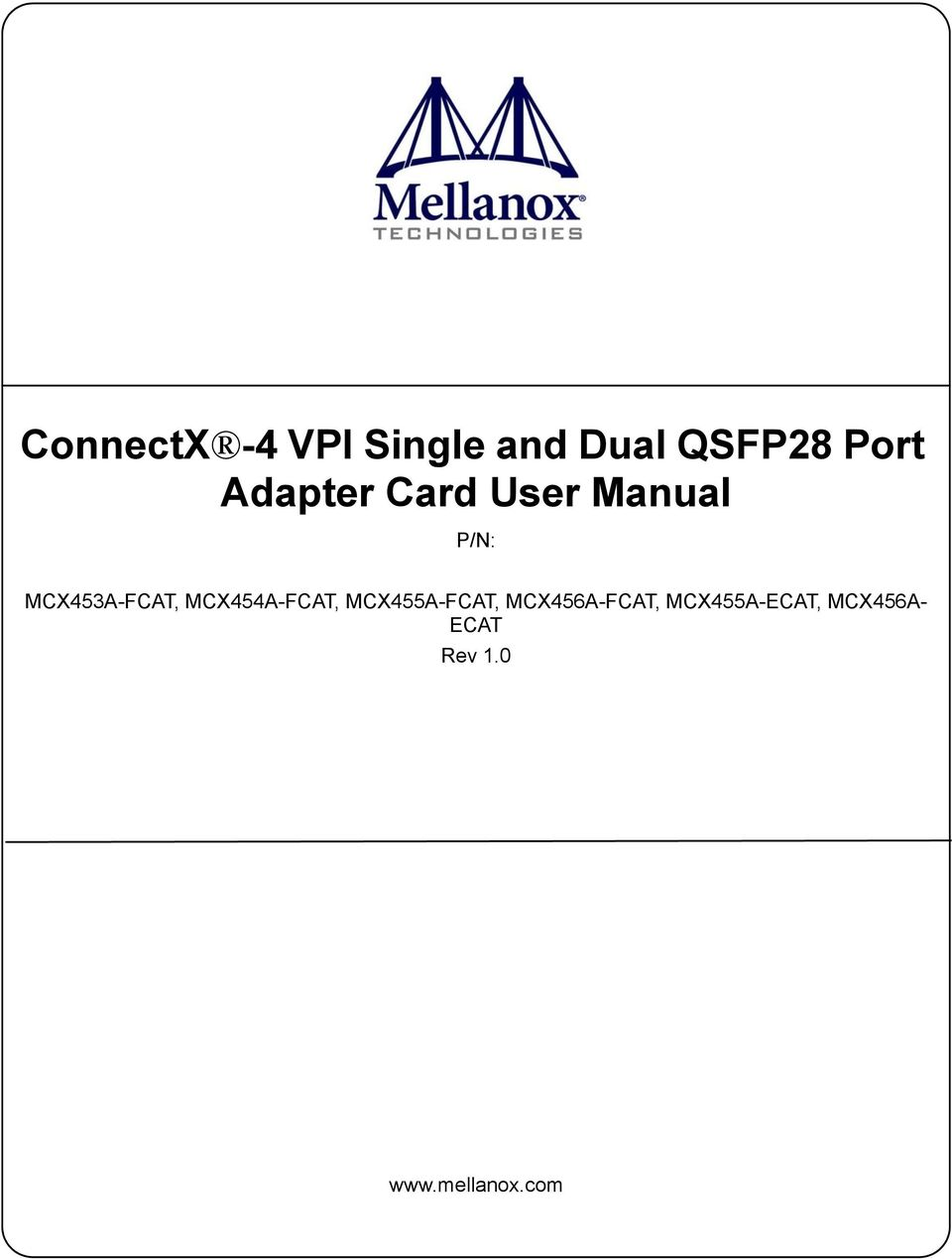 connectx 4 vpi single and dual qsfp28 port adapter card user manual rh docplayer net Passport Agent Reference Guide 2012 APA Reference Guide