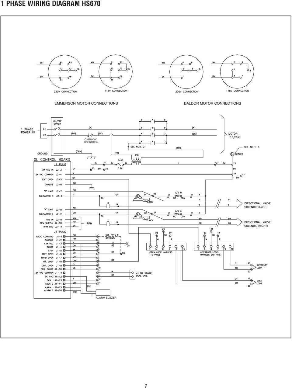 Wiring Diagram Autovision Page 3 And Schematics M151a1 Motor Connections Overload See 8 1 Phase