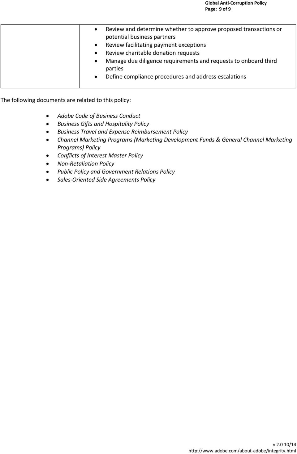 RESPONSIBILITY AND RELATED DOCUMENTS - PDF