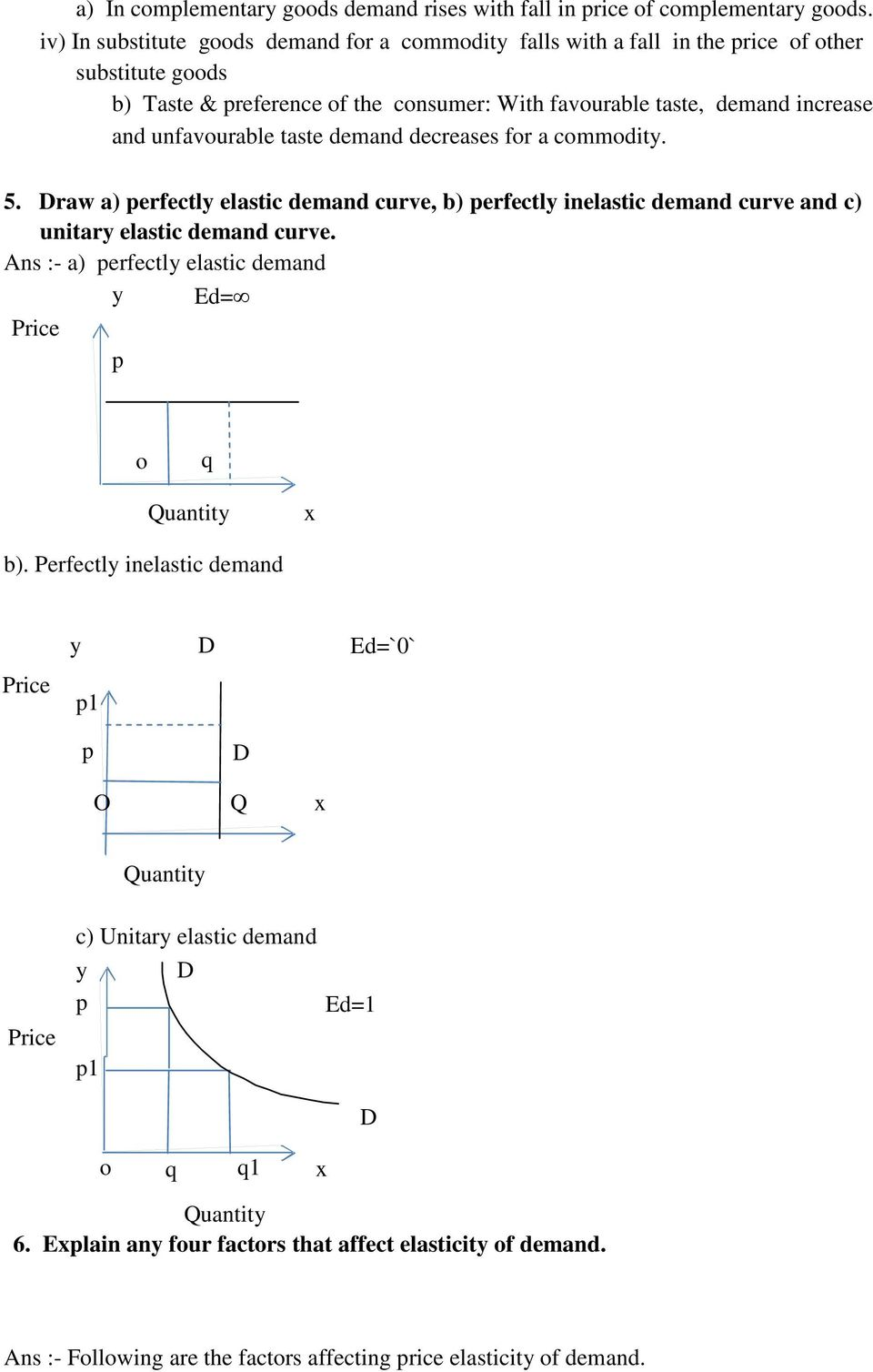 Unit 2 Consumer Equilibrium And Demand Pdf Free Download
