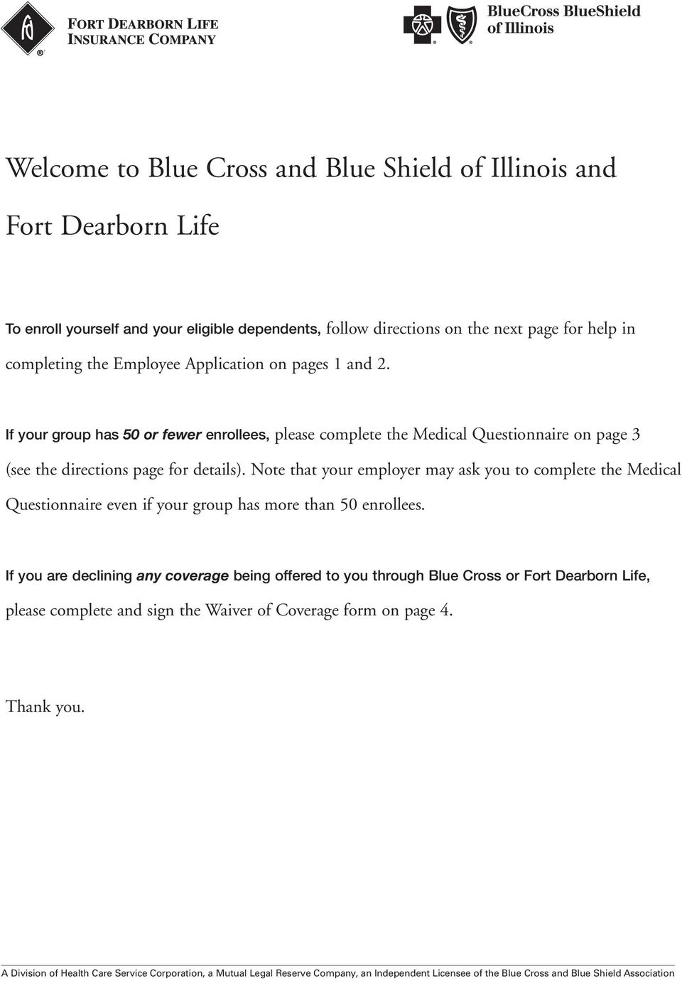 Welcome to Blue Cross and Blue Shield of Illinois and - PDF