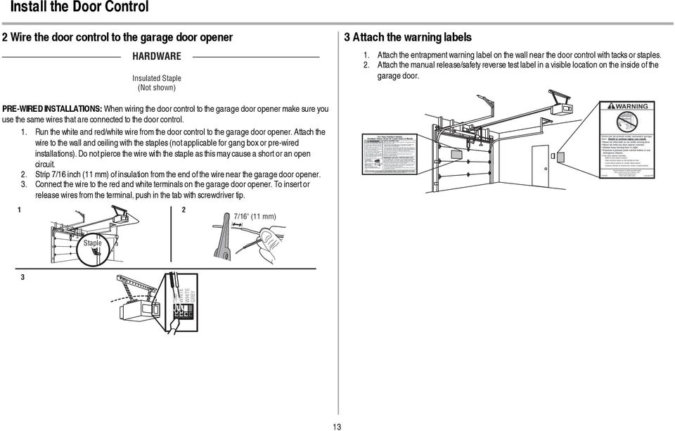 1/2 hp Garage Door Opener - PDF For Garage Wiring Diagram Reverse Safety on wiring diagram kitchen, schematic for garage, heater for garage, remote control for garage, wiring diagram security camera, wiring diagram home, lighting diagram for garage, wiring layout for garage, door for garage, wiring a new garage, dimensions for garage,