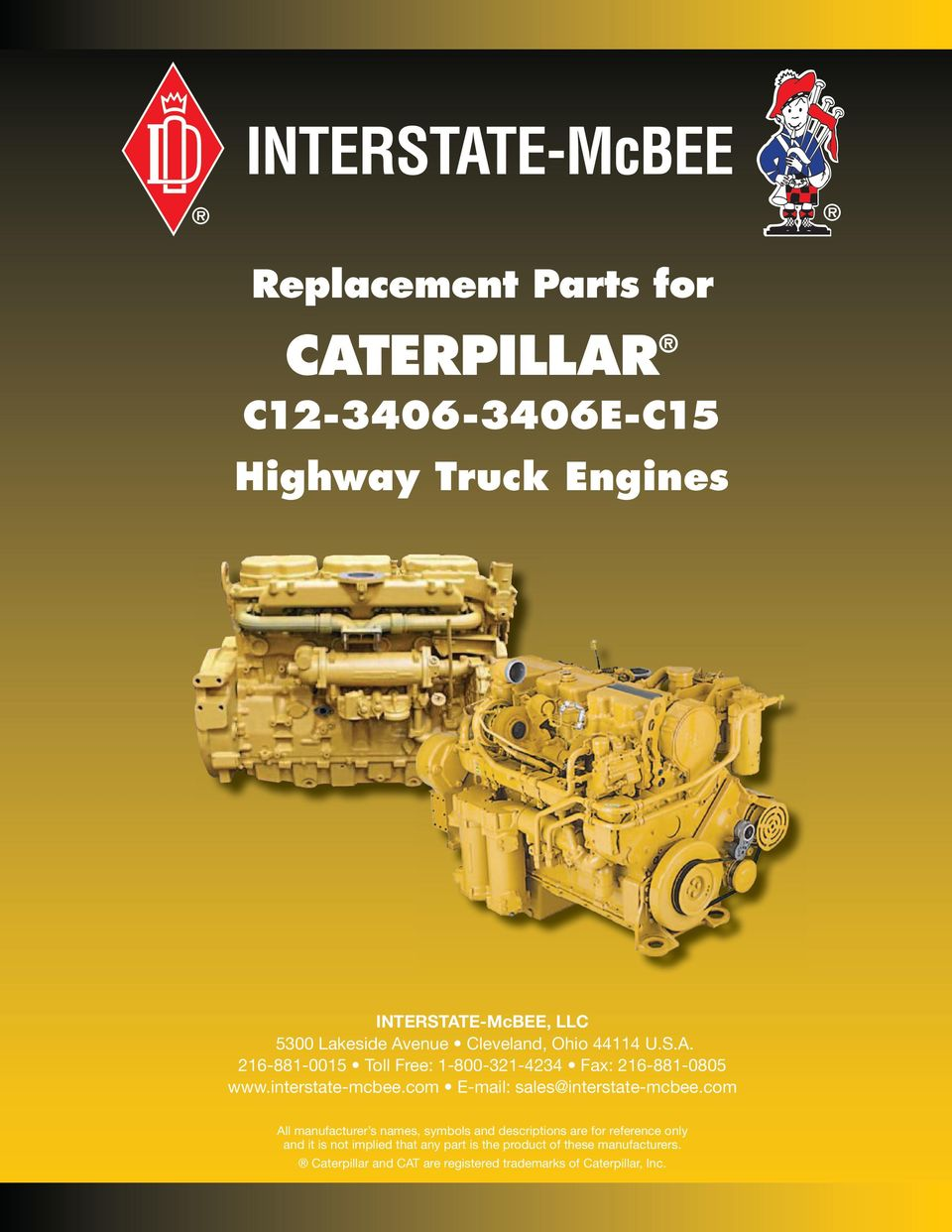 Replacement Parts for CATERPILLAR  C E-C15 Highway Truck