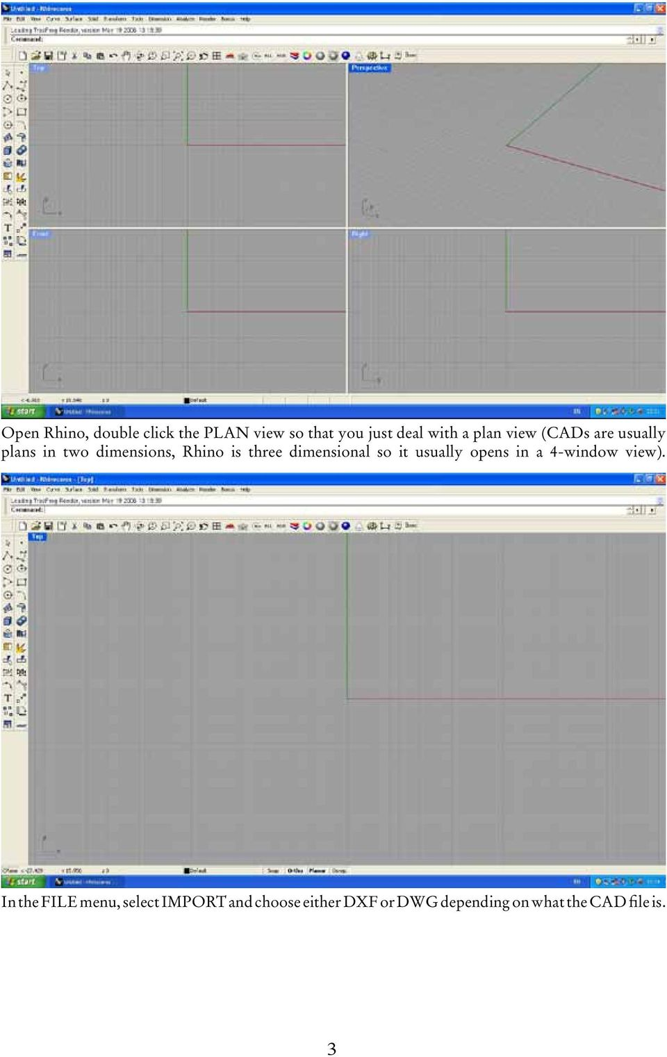 ArcView How to do it Manual No  2: Georeferencing CAD Files - PDF