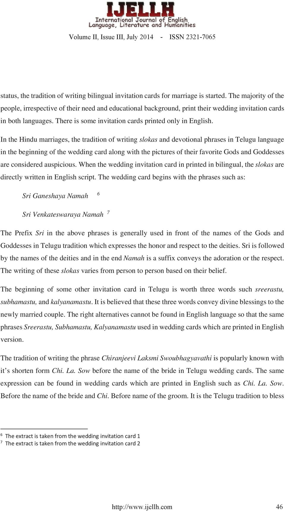 Intelligibility In The Use Of Telugu Terms And Phrases In