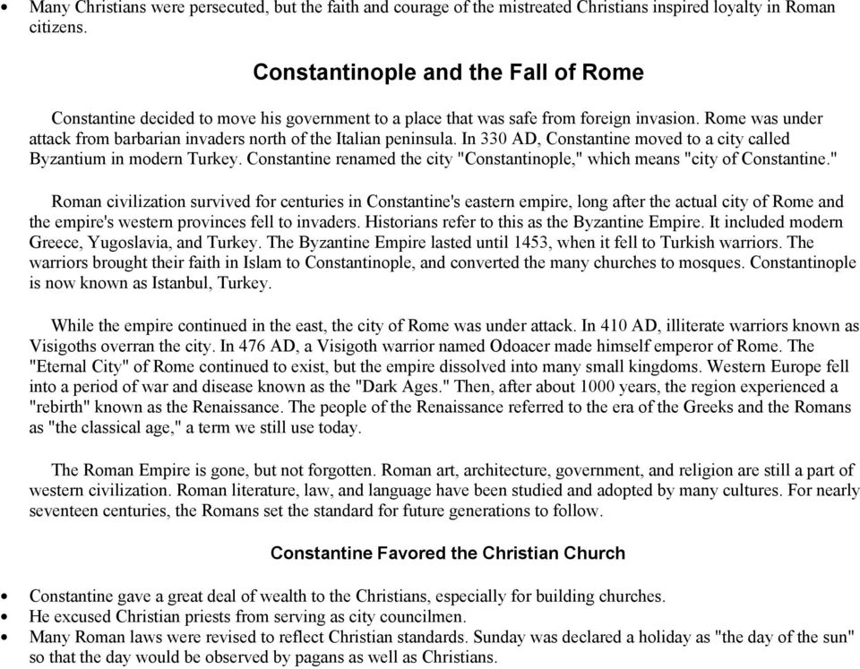 A Brief History of Rome - PDF