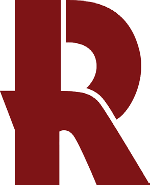 VISUAL ELEMENTS: Official Graphic R Logo and Colors The official colors for Rose-Hulman are PMS 7427 (Rose-Hulman Red) and white. See page 12 for application.