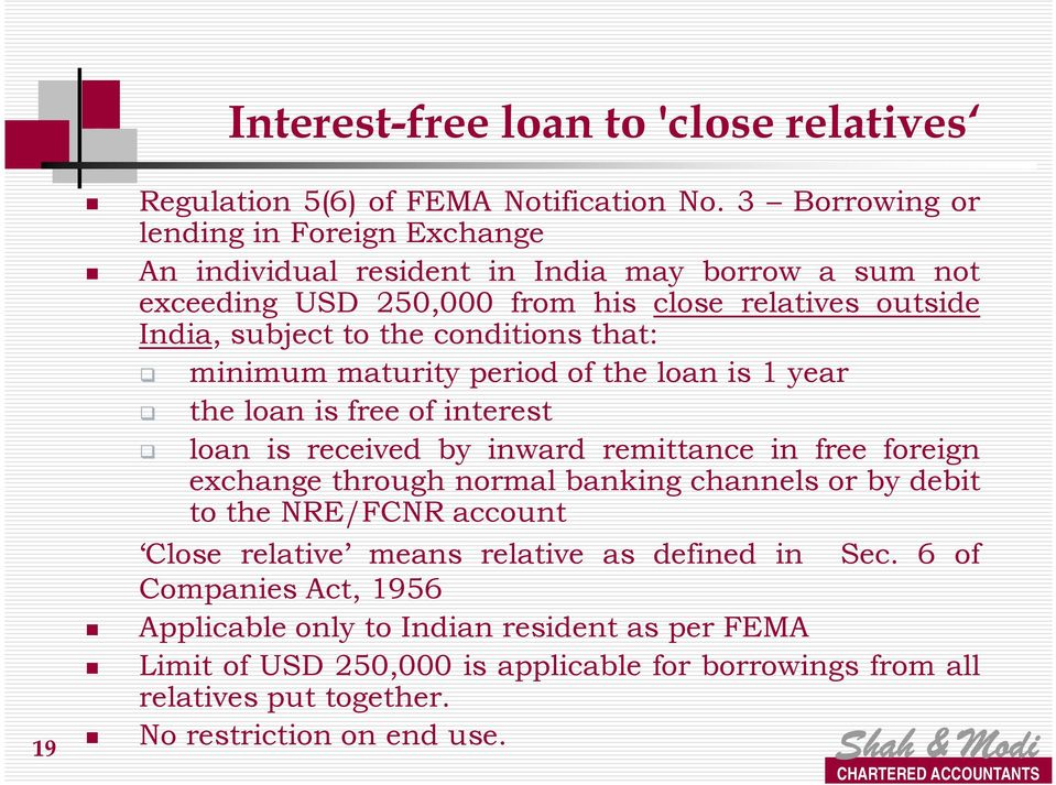 FEMA Regulations relating to Investments in India & Investments