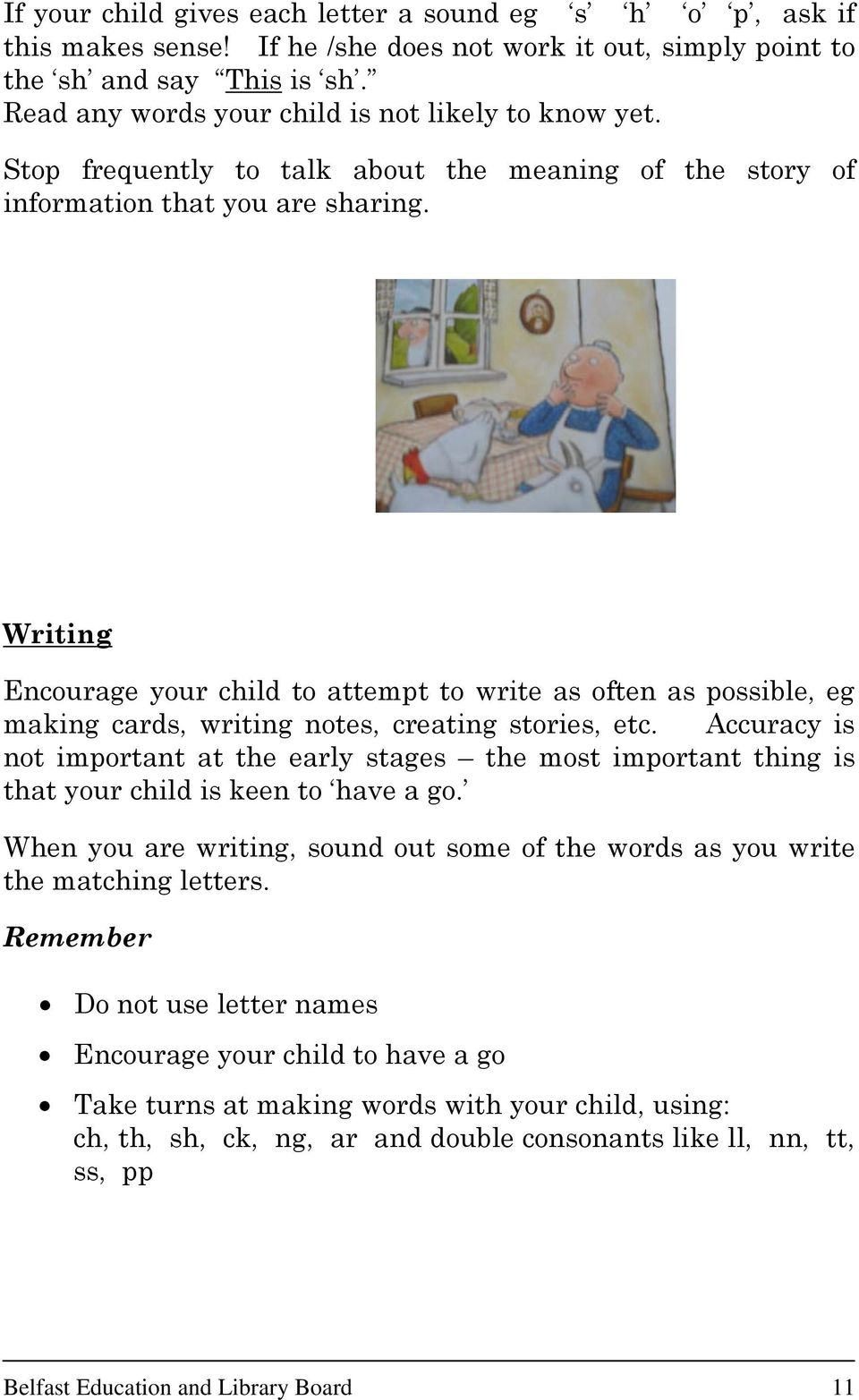 Helping Your Child At Home To Use A Linguistic Phonics Approach Pdf