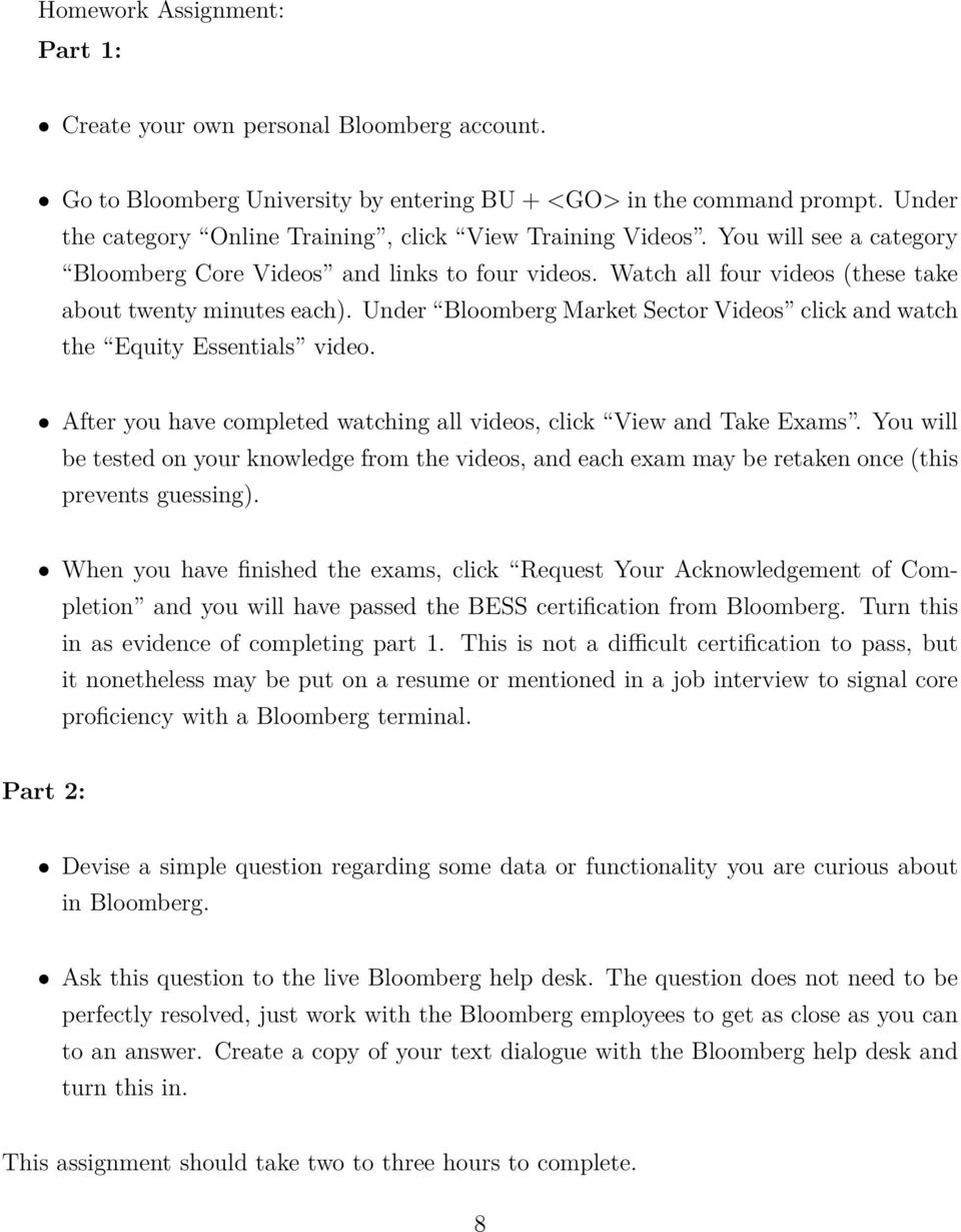 Quantitative Asset Management Learning Bloomberg Pdf